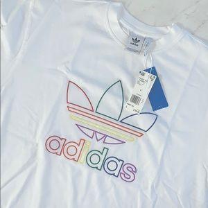 ADIDAS Men's Pride White T Shirt